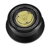 VBESTLIFE Plattenspieler Stabilisator,50Hz Plattenspieler Disc Record Gewicht Stabilisator Clamp mit...