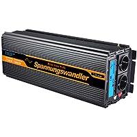 ALDA48-DC-AC3000W,Modified Sine Wave power inverter 3000w peak 6000W DC12V to AC 220V dc ac Power Inverter
