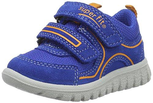 Superfit Baby Jungen SPORT7 Mini Lauflernschuhe, Blau (Bluet Multi 86), 30 EU