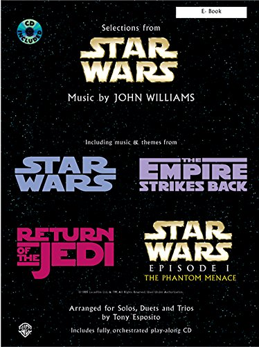 Selections from Star Wars : for Eb instruments (Wars-saxophon Star)