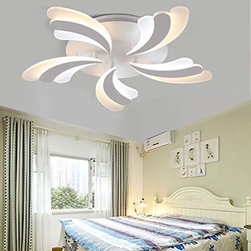 QLIGHA Lámpara de Techo LED con Control Remoto Dimmable pétalo acrílico postmodern...
