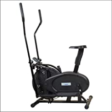 Aerofit Orbitrac Bike with Multi Assessment Read Out Display Time HF969 34x24x48-inch (Black, Sf9069)