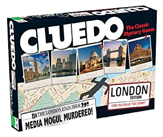 Cluedo London Edition Board Game (B008MVLEFE) | Amazon price tracker / tracking, Amazon price history charts, Amazon price watches, Amazon price drop alerts