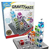 ThinkFun Gravity Maze Marble Run Logic Game and STEM Toy for Boys and Girls Age 8 and Up