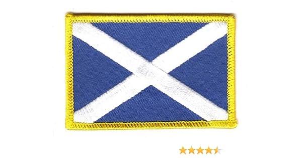 Flaggen Aufn/äher Patch Schottland Flagge Fahne NEU