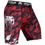 Venum Herren Tecmo Vale Tudo Shorts, Rot/Weiß, M