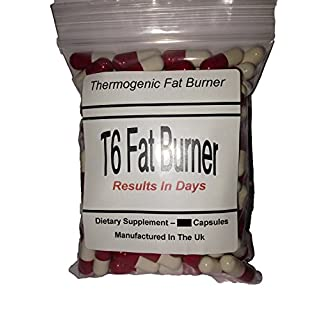 T6 FAT BURNERS X 60 CAPSULES LOSE UPTO 21LBS IN 1 MONTH - MADE IN THE UK - *****BUY 2 GET 1 FREE***** for Weight Loss, Appetite Suppressant - For Men and Women and T5 Thermo Red, Extra Strong Fat Burners Slimming Pills