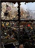 Poster 80 x 110 cm: In the ruins of the World Trade Center de Everett Collection - reproduction haut de gamme, nouveau poster