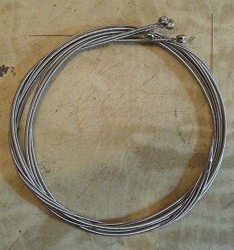 MUTA 4 CORDE BASSO ELETTRICO .045/.015 STAINLESS STEEL CORE NICKEL ROUND WOUND