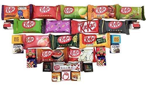 30 japanisches Kit Kat & Tirol Geschmacksortiment japanische Süßigkeiten -