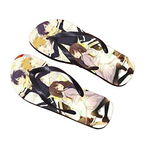 Bromeo Noragami Anime Unisex Flip Flops Zehentrenner Flip Pantoffeln 512