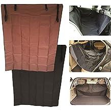 JJOnlinestore–2en 1impermeable Funda para asiento trasero de coche mascota perro gato pantalla maletero maletero