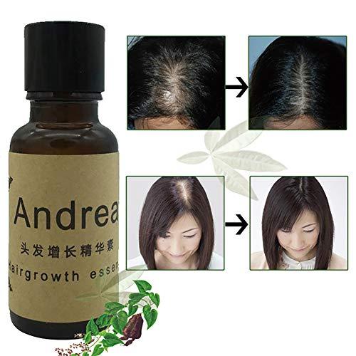 Xiton 1 botella Aceite de la esencia del crecimiento pelo Fortalece cabello Tratamiento adelgazamiento cabello Tratamiento adelgazamiento del cabello Sérum crecimiento del cabello (20 ml / 0.7 oz)