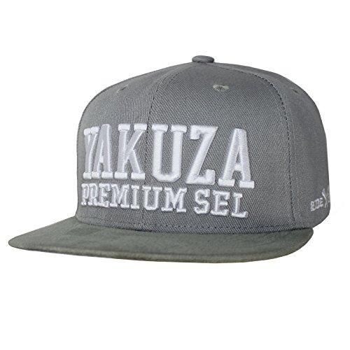 Yakuza Premium Basecap 2586 hellgrau Snapback