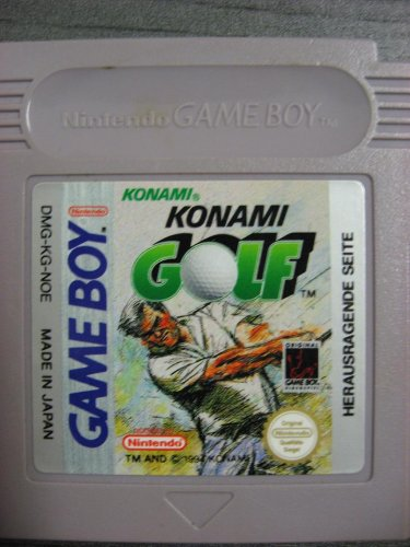 Konami GOLF - Game Boy