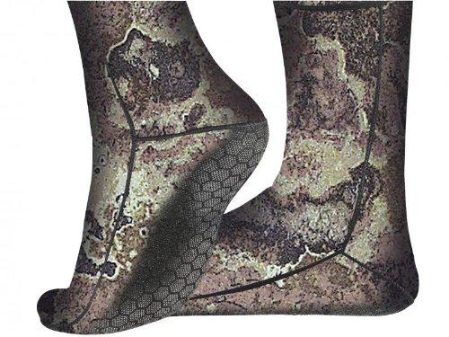 Cressi Metallite Camouflage Calzari in Neoprene, 3 mm, Mimetico, L
