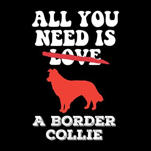Coto7 Need Is A Border Collie Women's Vest Black