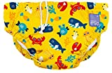 Bambino Mio, couche de bain lavable, en eaux profondes (jaune), xl (2 ans et+)