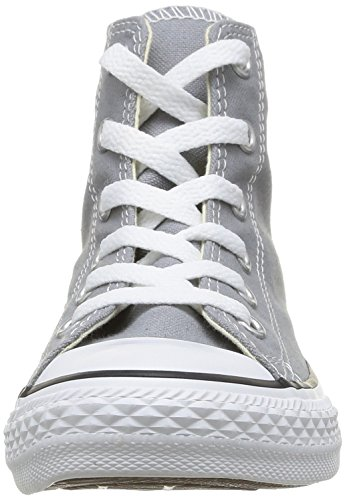 Converse - Youths Chuck Taylor All Star Hi - Sneakers Basses - Mixte Enfant Gris