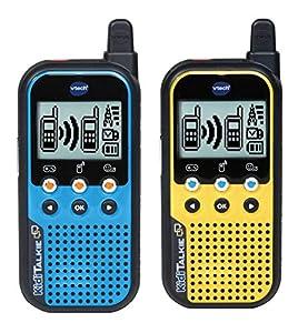 VTech KidiTalkie - Electrónica para niños (Azul, Amarillo, De plástico, CE, 4 año(s), Niño/niña, 10 año(s))
