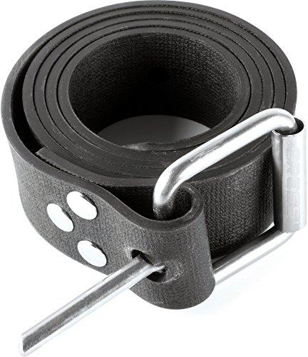 Cressi Weight Belt W/Plastic Buckle Ceinture de Lest Mixte Adulte, Noir/Grey/glack, Unique