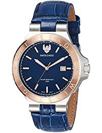 Swiss Eagle Analog Blue Dial Men's Watch - SE-9090-02