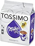 Factory Sealed Pack Tassimo T-Disc Pods Milka Hot Chocolate - 8 Servings