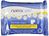 Natracare Organic Cotton Intimate Wipes - 24 x Packs of 12 (288 Wipes)