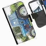 Hairyworm- Traktoren Seiten Leder-Schützhülle für das Handy Samsung Galaxy S3 Neo (I9301I)