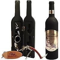 Juego de abridor de botella de vino, de Yobansa, con sacacorchos para vino, 5piezas