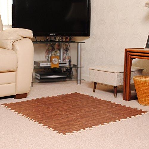 Zoom IMG-3 tappeto effetto legno in schiuma