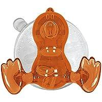 Kleine Wolke MS Kunststoff Baby Bird Wandhaken, orange