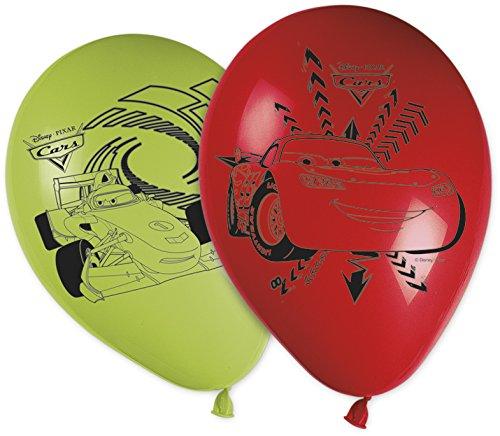 Party-Dekoration mit Neon Cars Aufdruck (Lightning Mcqueen Party Supplies)