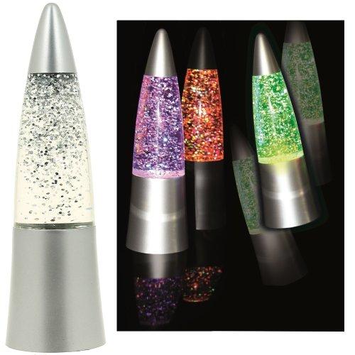 promobo-mini-lampe-fusee-paillettes-veilleuse-de-nuit-led-argente