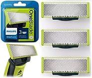 Philips QP230/50 - Cuchilla de recambio para Philips OneBlade, 3 cuchillas