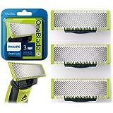 Philips QP230/50 Lames de Remplacement OneBlade x3 (Durent Jusqu'à 12 Mois)