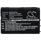 Cameron Sino 700mAh/2.52WH Batterie de remplacement pour Siemens C25Power