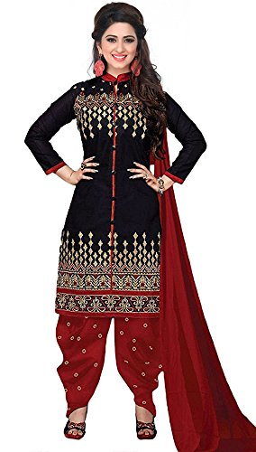 Bolly Lounge Women's Cotton Printed Unstitched Regular Wear Salwar Suit Dress Material