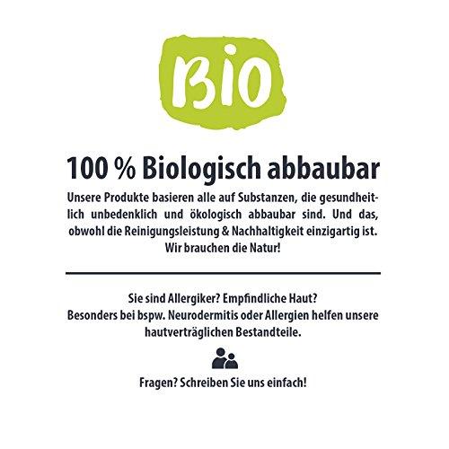 AMI Antikalk-Badreiniger Konzentrat 1.000ml, Kalkreiniger & Sanitärreiniger, entfernt Kalk & Schmutz in Bad & Küche, hautfreundlich & ökologisch abbaubar - 6