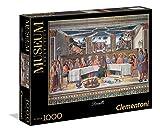 Clementoni 39289 - Puzzle Rosselli - L'Ultima Cena, Collezione Museum, 1000 Pezzi