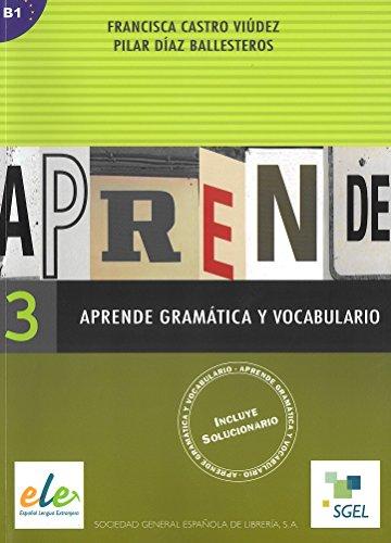 Aprende gramática y vocabulario 3: Pt. 3