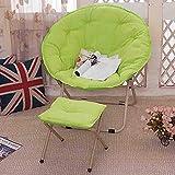 BAIF Klappstühle Erwachsene Sonnenliege mit Flossen, PP Baumwolle Canvas Lounge Sessel mit einem...