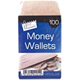 Just Stationery 70x105mm Money Envelope (Wallet of 100)