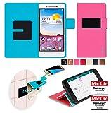 reboon Hülle für Oppo R1 Tasche Cover Case Bumper | Pink | Testsieger