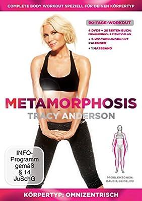 Tracy Anderson - Metamorphosis, Körpertyp: Omnizentrisch, Problemzonen: Bauch, Beine & Po [4 DVDs]
