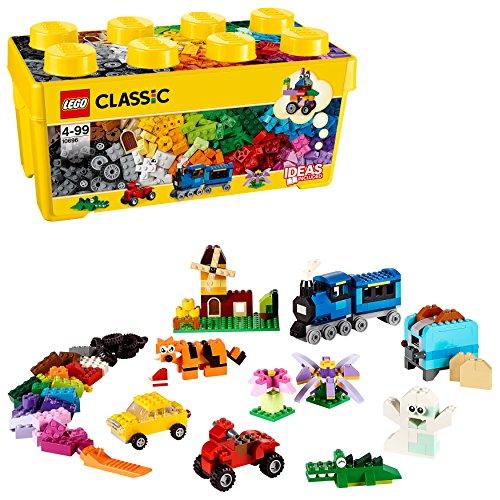 LEGO Classic - Caja de ladrillos creativos mediana (10696) Juego de construcción