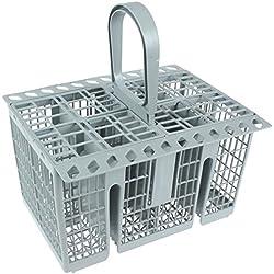 Hotpoint - Cesta de cubiertos para lavavajillas original para Indesit, color gris