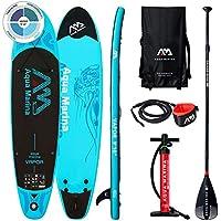 Aqua Marina Vapor-All-Around iSUP, 3.00m/12cm, with Paddle and Safety Leash, Adultos Unisex, Blue, Uni
