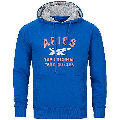 asics-graphic-hoodie-sweats-a-capuche-speed-blue