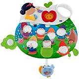 Chicco - Panel Blancanieves y los 7 enanitos, juguete con sonido (00060133000000)